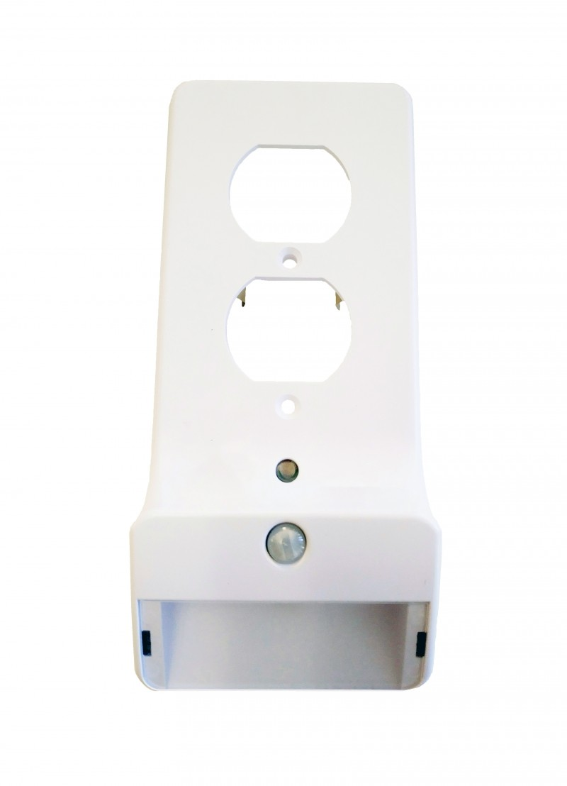 Snap-On Smart Duplex Outlet Plate w/ Night Light