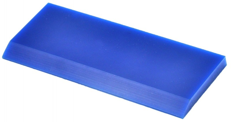 5'' Blue Beveled Squeegee