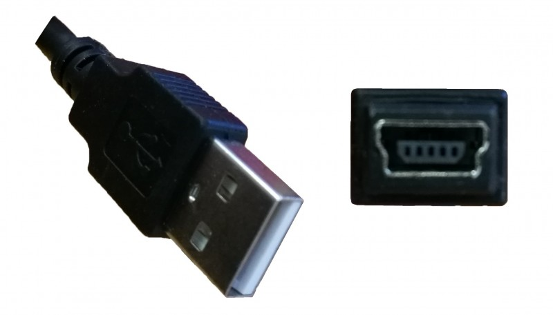 USB To Mini USB Adapter Cable