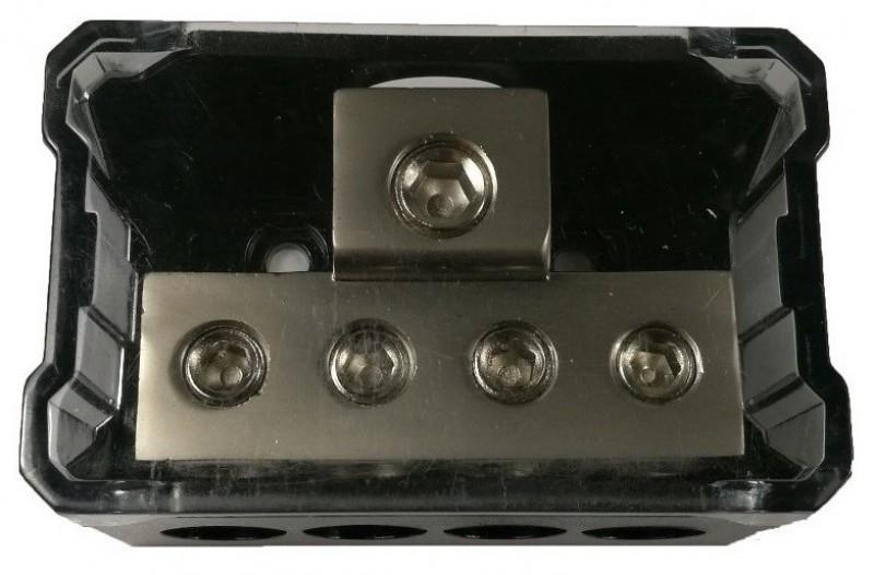 1X4GA In - 4X4GA Out Power Distribution Block
