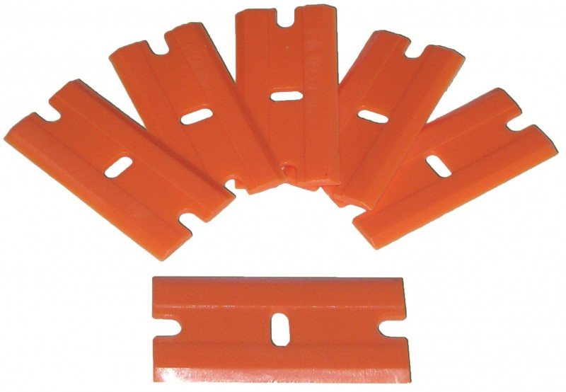 Double Edge Plastic Razor Blades