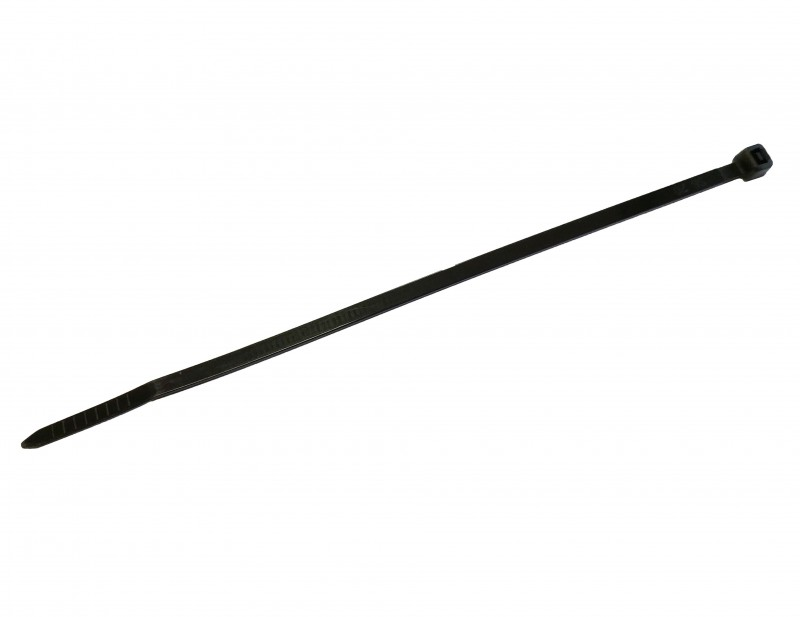 6'' Black Cable Ties - 100 PCS