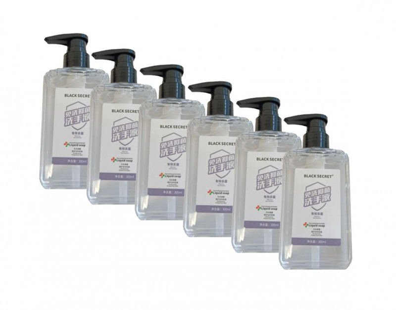 55-65% Alcohol Hand Sanitizer - 6 PACK [300ML]