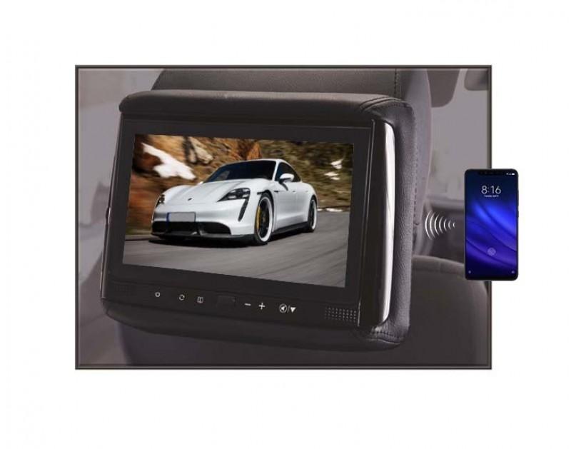 """RHS-906M - 9"""" HD Headrest w/ Wireless Screencasting"""