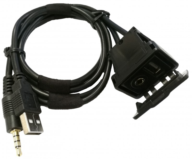 3.5mm Audio/USB Extension Cable