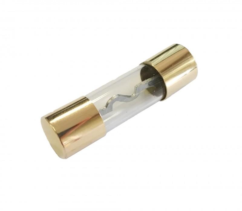 20, 30, 40, 50, 60, 70, 80 OR 100 Amp Gold AGU Fuse - 5 PCS
