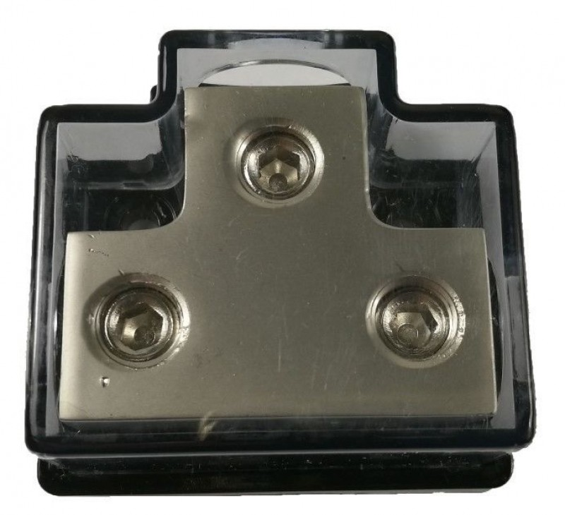 1X0GA In - 2X0GA Out Power Distribution Block