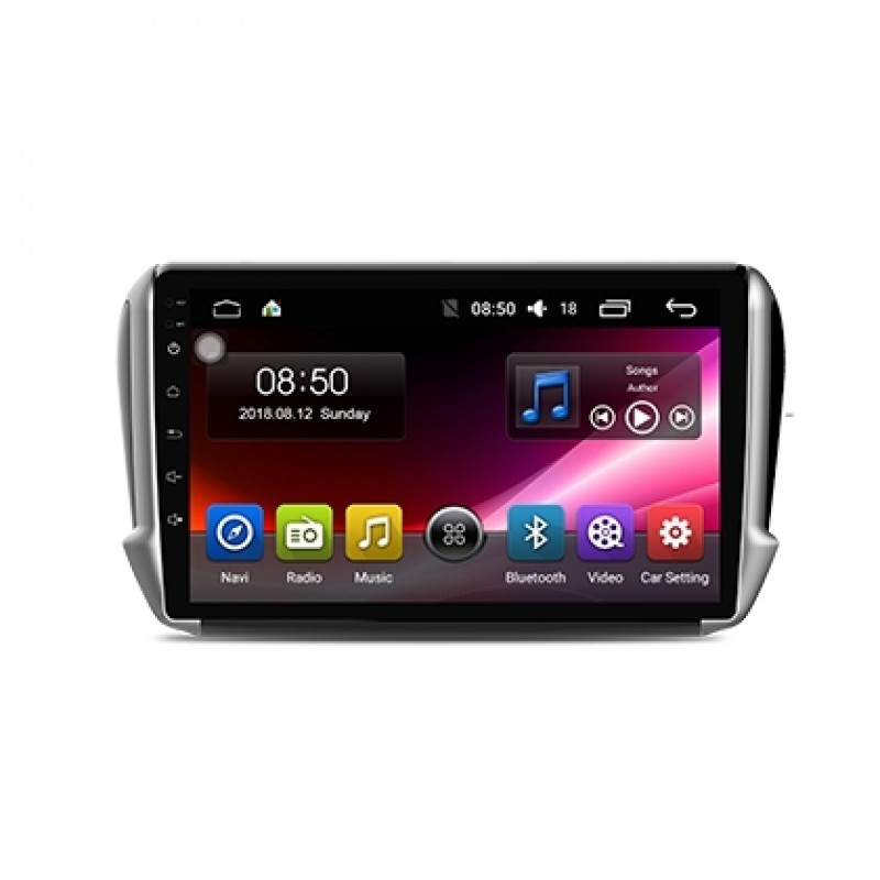 2014-2016 Peugeot 2008 10.1'' Touch Screen In-Dash