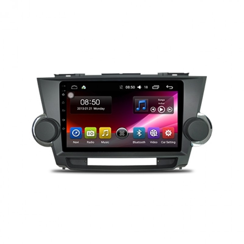 2008-2013 Toyota Highlander 10.1'' Touch Screen In-Dash