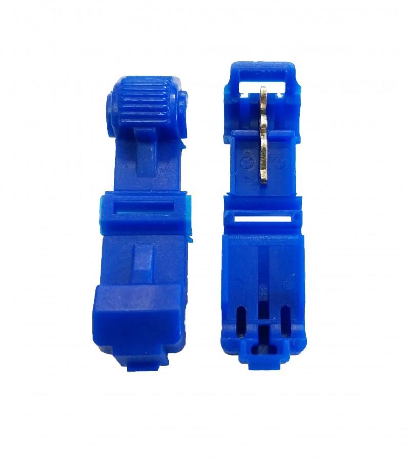 Blue 16-14 Gauge T-Tap - 100 PCS