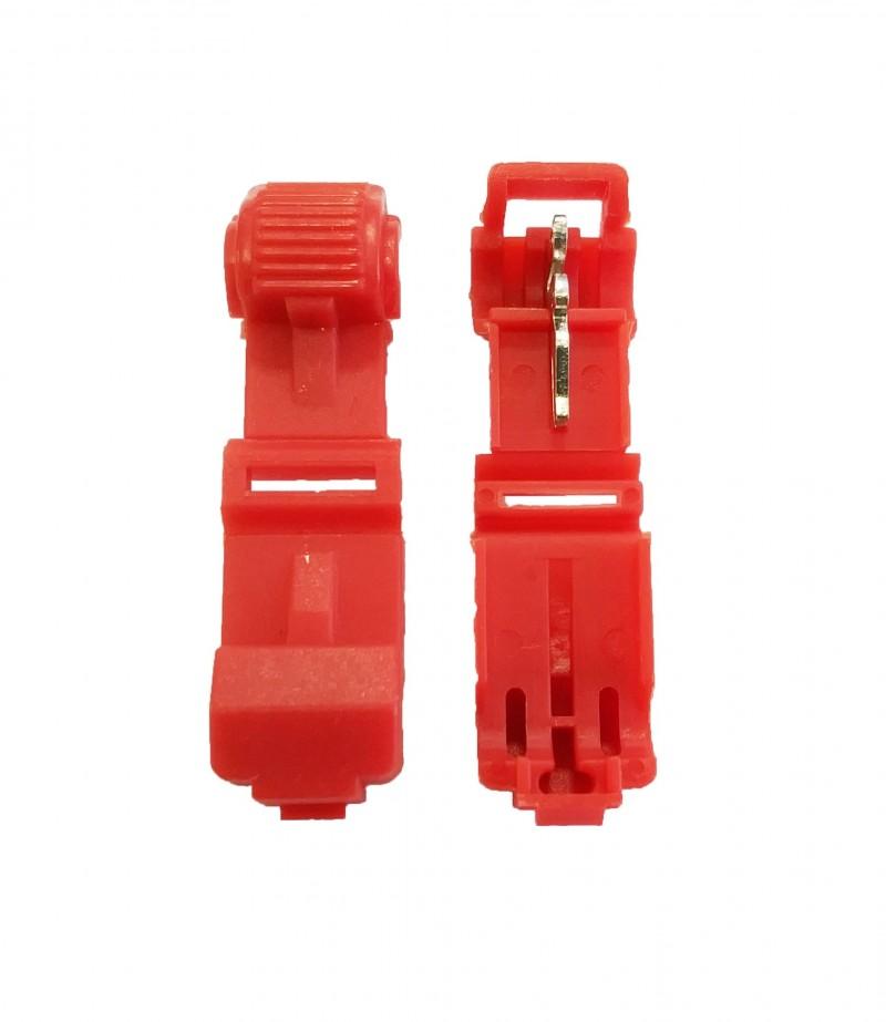 Red 22-18 Gauge T-Tap - 100 PCS