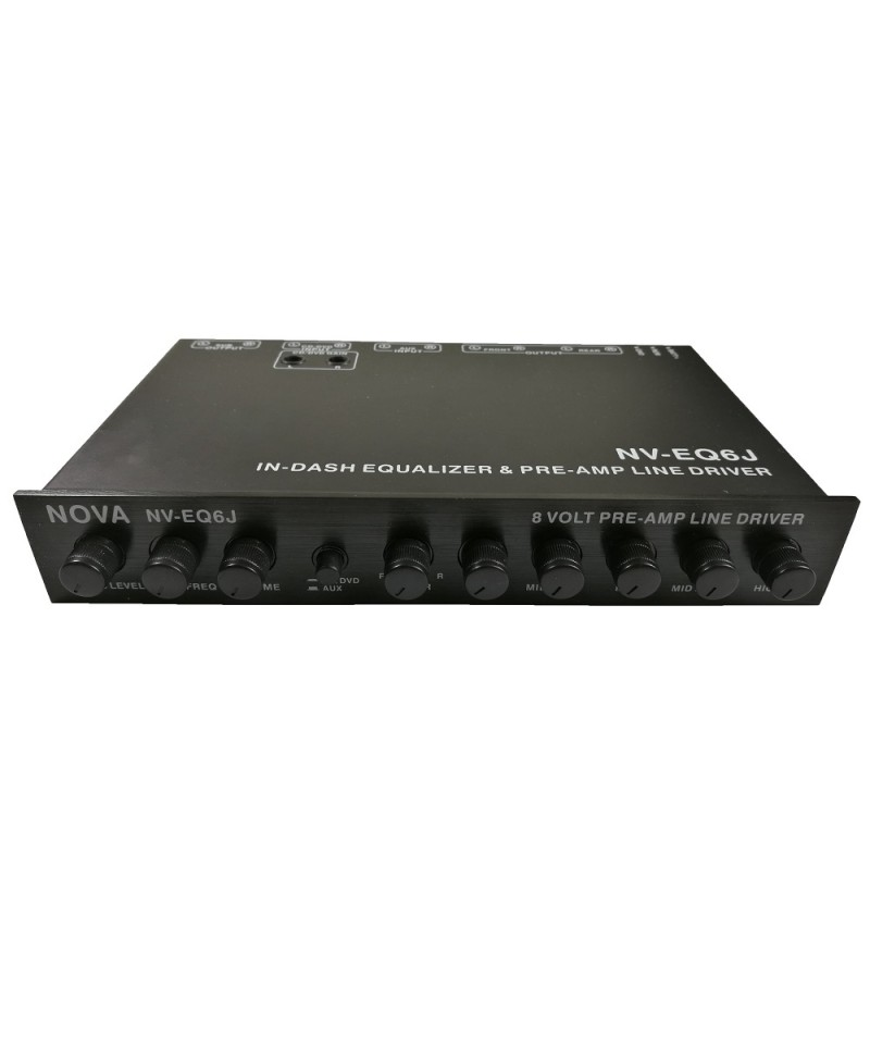 5 Band Parametric Equalizer & Pre-Amp Subwoofer Gain Control