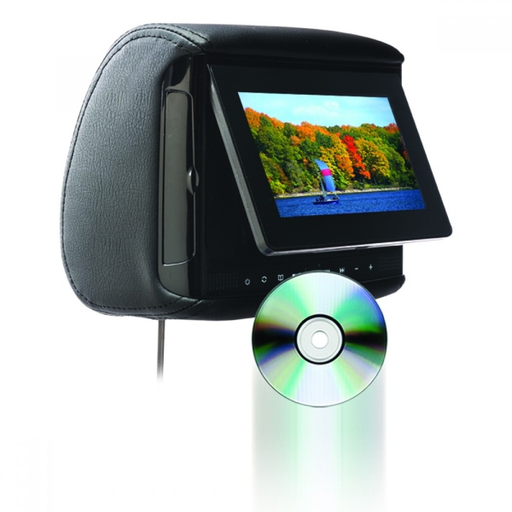 "BSD-705 - Chameleon 7"" LCD Headrest w/ Build-in DVD player ..."
