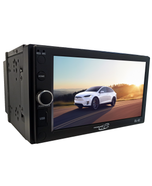 DL-62 - 6.2'' Multimedia Double Din Stereo In-Dash
