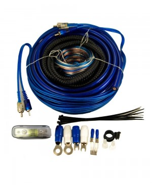 4 Gauge Complete Amplifier Installation Wiring Kit