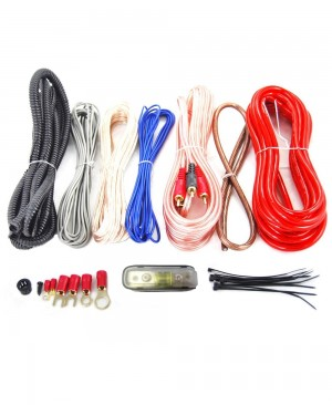 8 Gauge Complete Amplifier Installation Wiring Kit