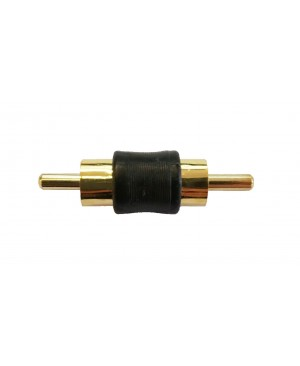 Male To Male Gold Plated RCA Adapter - 24 PCS
