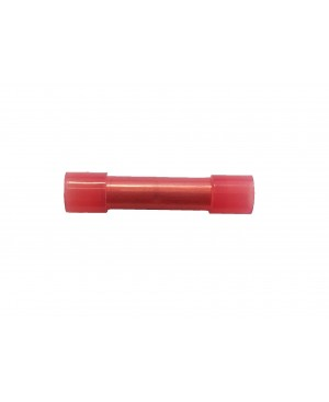 Red Nylon Butt Connector - 100 PCS