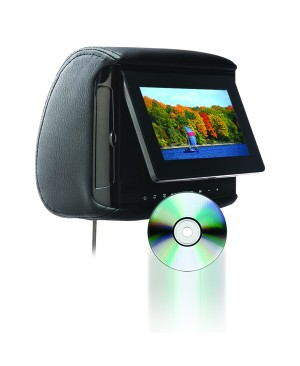 "BSD-705 - Chameleon 7"" LCD Headrest w/ Build-in DVD player"