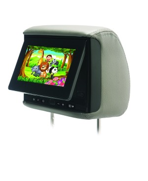 "BSS-705 - Chameleon 7"" LCD Headrest, 3 Color Covers"
