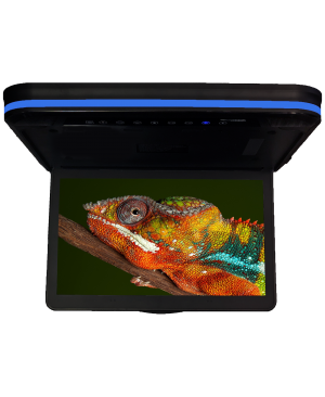 "CFD-158M - Chameleon 15.6"" Flipdown Video Monitor with Wireless Screencasting"