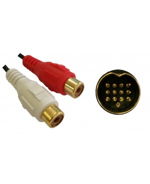 Kenwood 13 PIN To RCA Cable