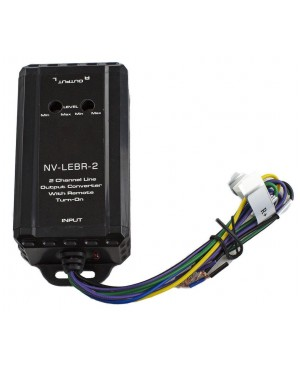 2 Channel Line Output Converter With Remote Turn-On