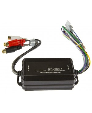 4 Channel Line Output Converter With Remote Turn-On
