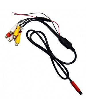 Power with IN/OUT RCA Cable For Select Headrest Monitor