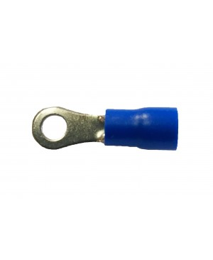 Blue Ring Terminal #6 - 100 PCS