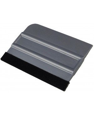 4'' Bump Card Squeegee With Felt Edge
