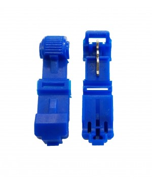 Blue 16-14 Gauge T-Tap - 100 PCS