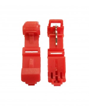 Red 22-18 Gauge T-Tap - 100 PCS