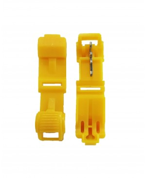 Yellow 12-10 Gauge T-Tap - 100 PCS