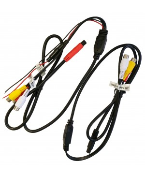 Power Cable & Out Cable For Select Headrest Monitor